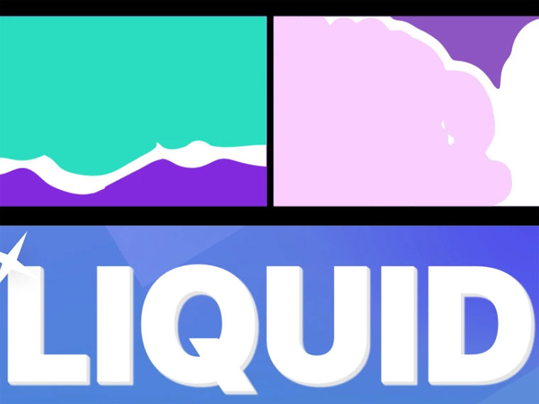 Liquid Transitions Pack For After Effects Intro.