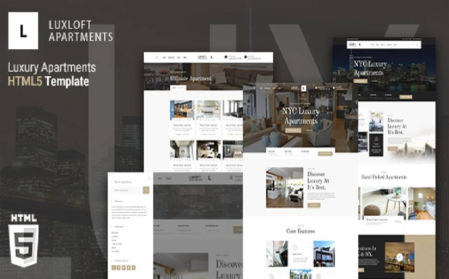 luxloft-modern-apartment-html-5-website-templat