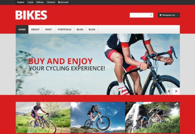 Mountain Bikes WooCommerce