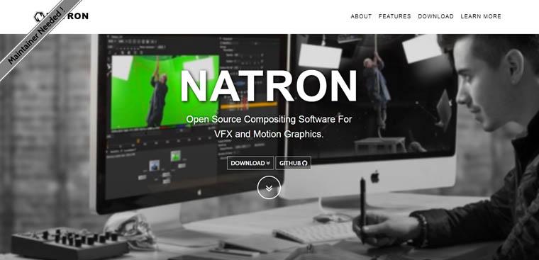 Natron - darmowa alternatywa After Effects