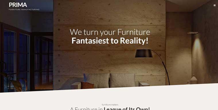 Interior Furniture WordPress Theme.