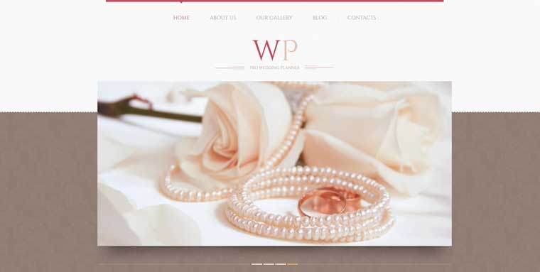 Tender Wedding Planner WordPress Theme.