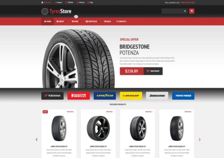 Auto Parts Store WooCommerce Theme