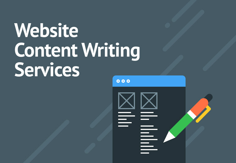 Website content writing services.