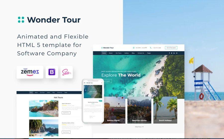 wonder-tour-simple-travel-agency-website-template