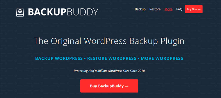 WordPress backup plugins.