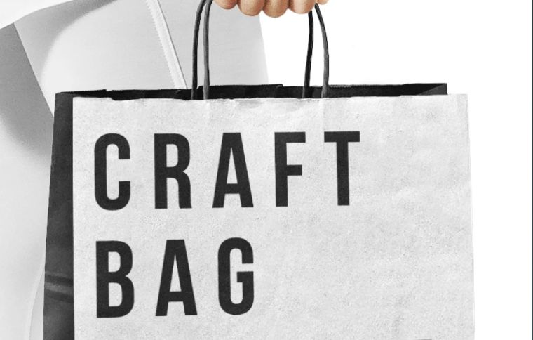 Craft Bag Product Mockup