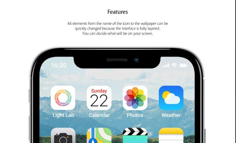 Phone App Set Product Mockup