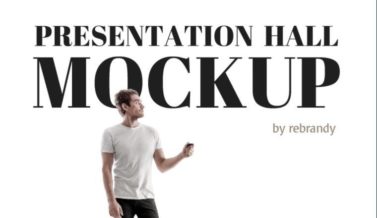 Presentation Hall Product Mockup