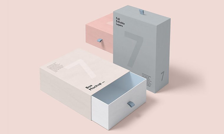 Box set product mockup