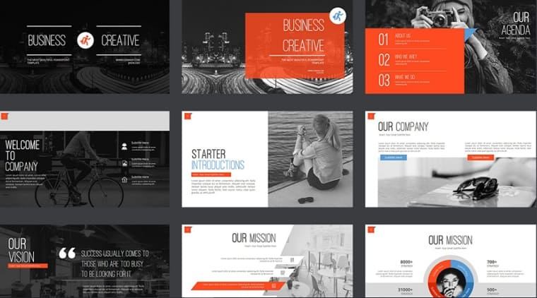 Business Creative PowerPoint Template