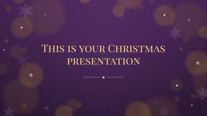 Christmas Presentation.
