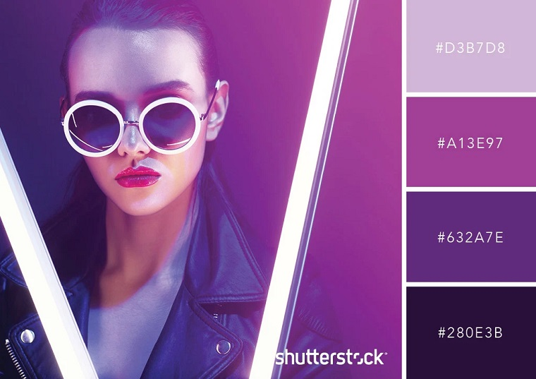 Ultraviolet has been chosen the color of the 2018 year by Pantone.