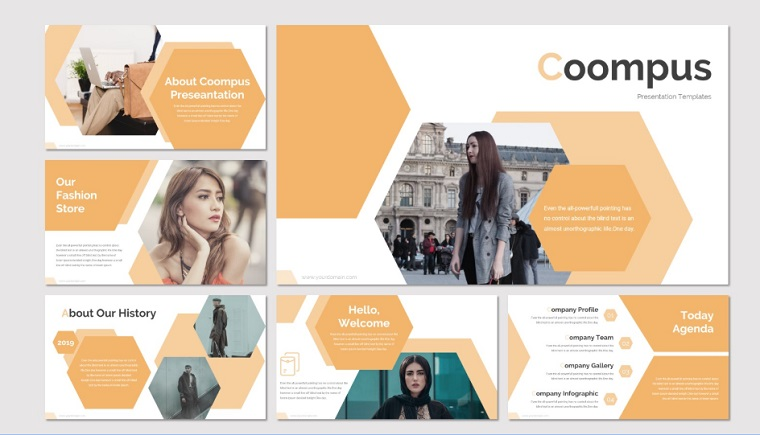 COOMPUS PowerPoint Template