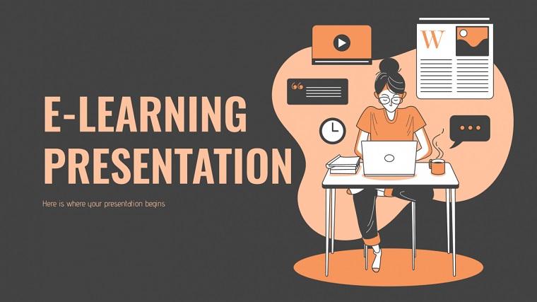 E-learning presentation.