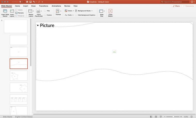 Edit music PowerPoint template 1.