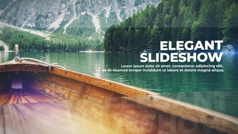 Elegant Slideshow After Effects Intro.