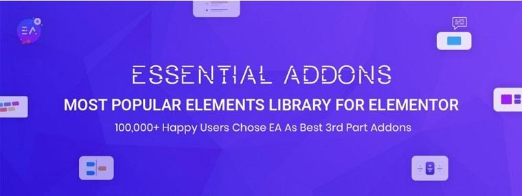 Essential Addons for Elementor.