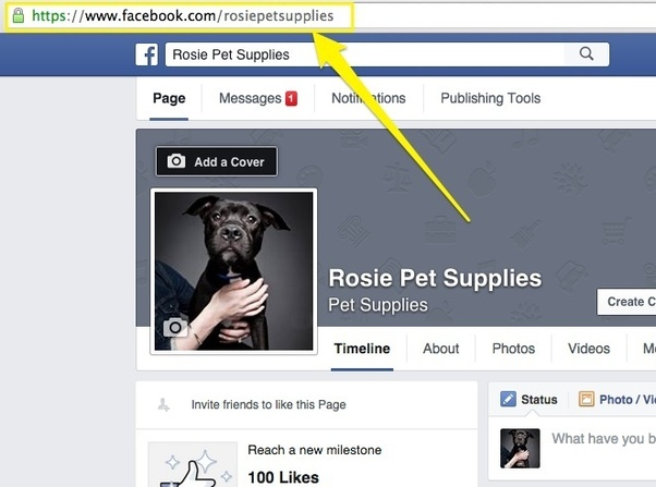 How to Get a Link to Your Facebook Page.