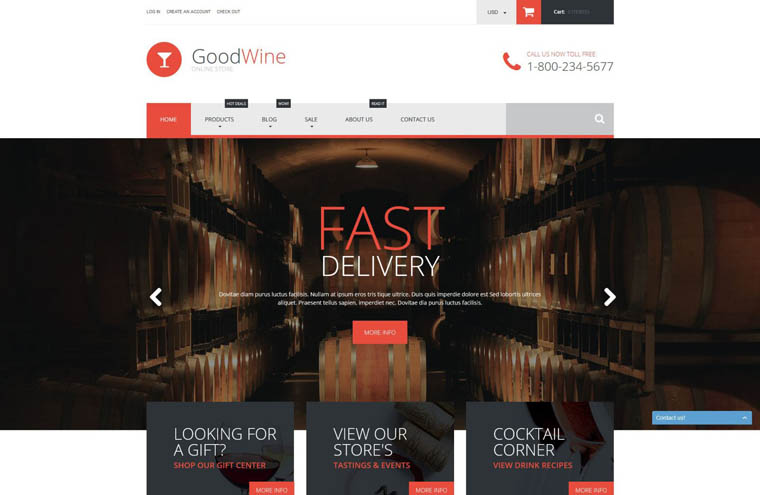 Excellent Wine Shopify Theme