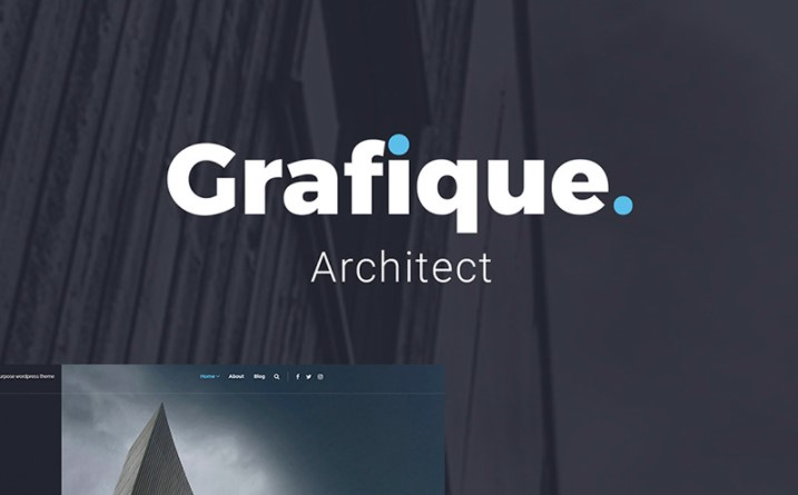 Grafique. - Architect Lite Free WordPress Theme