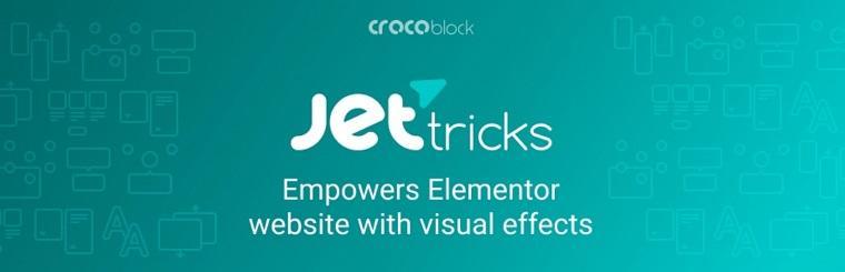 JetTricks Add-on for Elementor.