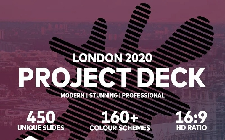 London 2020 Project PowerPoint Template