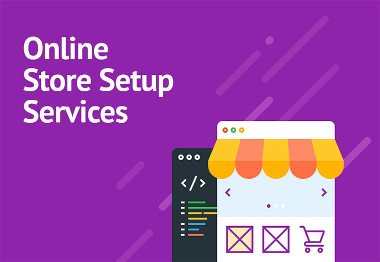 Online Store Setup Service.