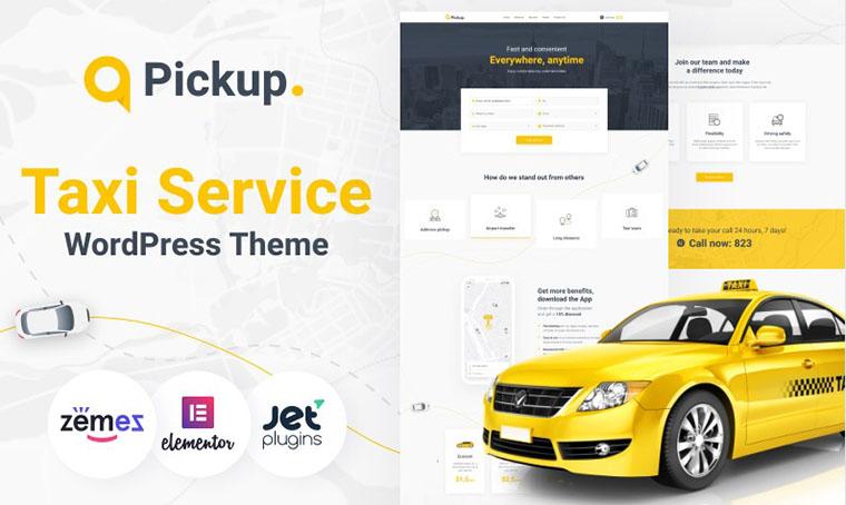 Pickup Elementor WordPress theme
