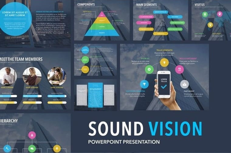 Sound Vision PowerPoint Template