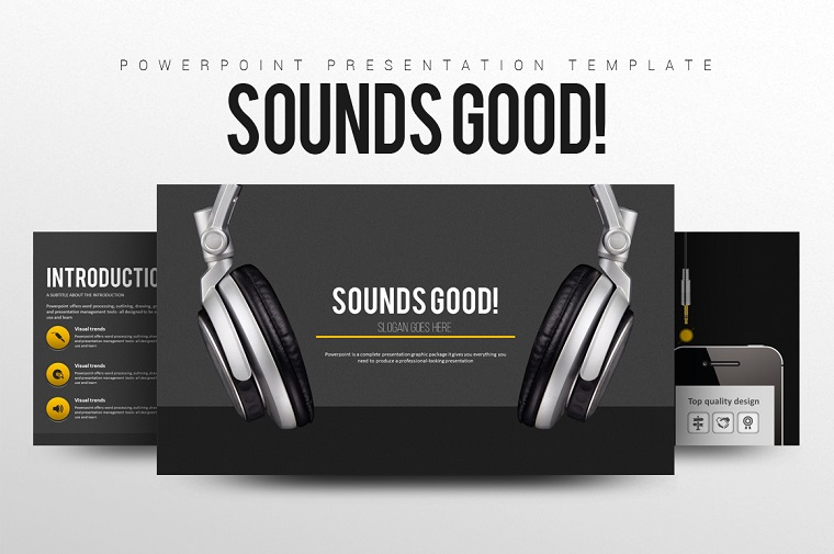 Sounds Good PowerPoint Template