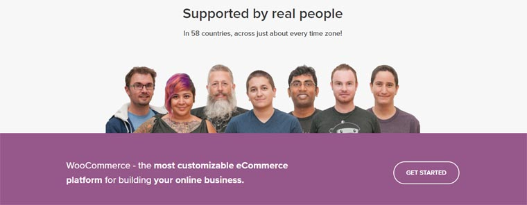WooCommerce Support.