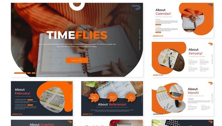 Timeflies | PowerPoint Template