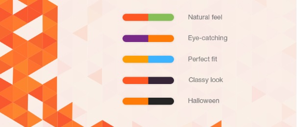 Use of Color Combinations.