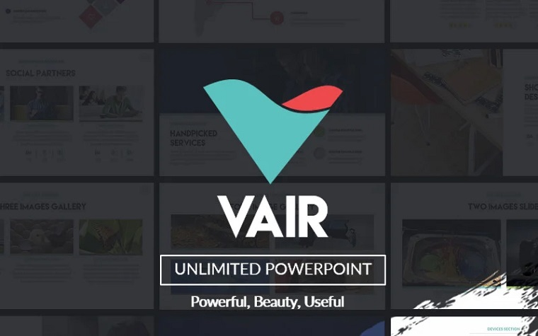 Vair - PowerPoint Presentation Template.
