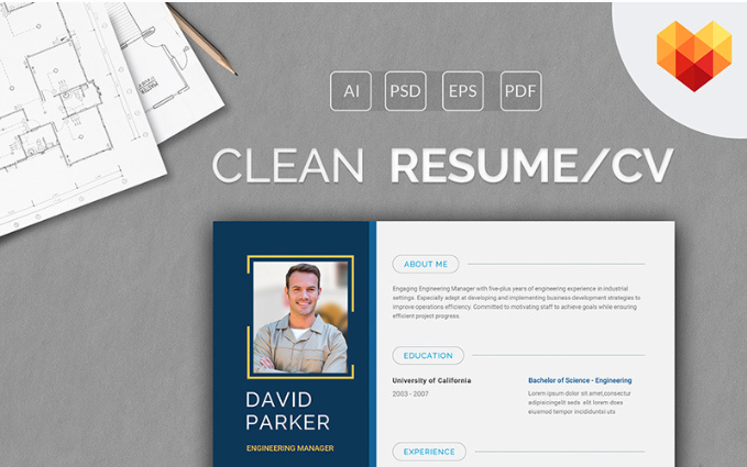 David Parker - Engineering Manager Resume Template