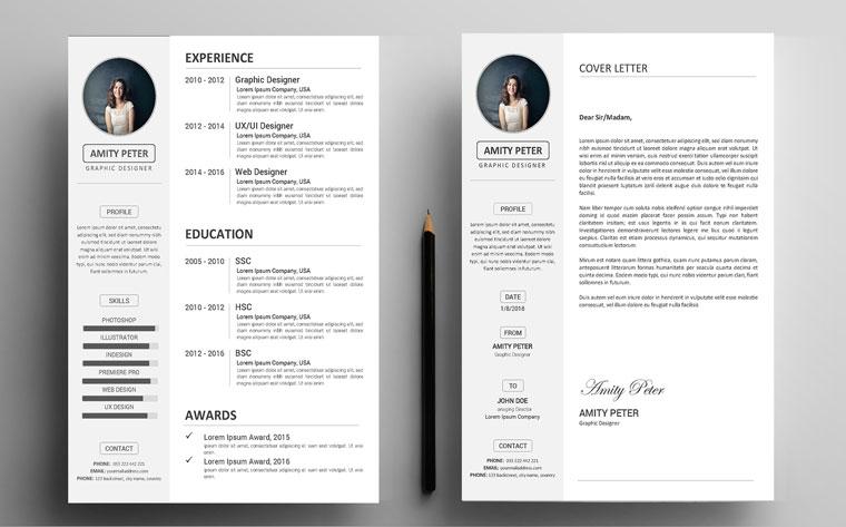 Amity Peter - CV Resume Template