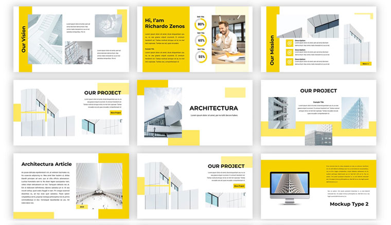 Architectura PowerPoint Template