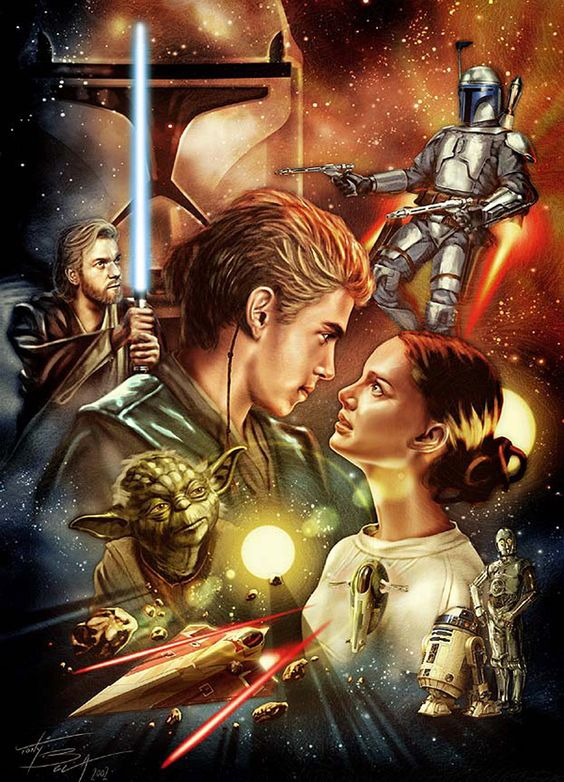 Attack of the Clones poster 1.