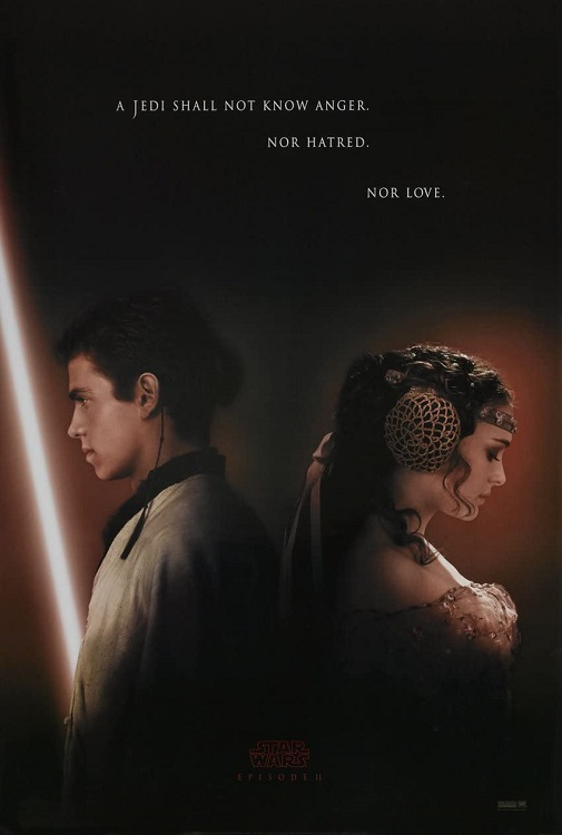 Attack of the Clones poster 2.