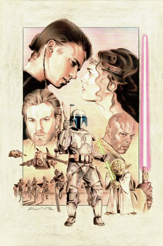 Attack of the Clones poster 3.