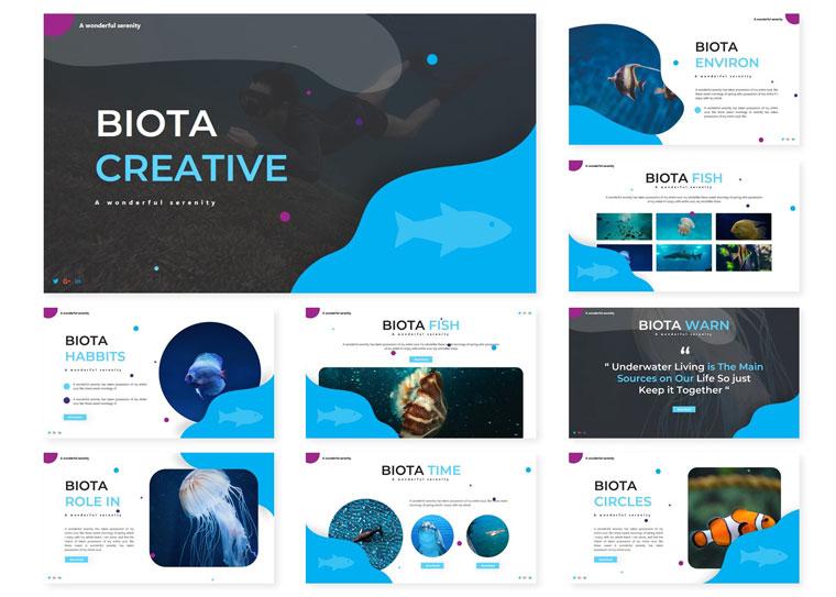 Biota | PowerPoint Template