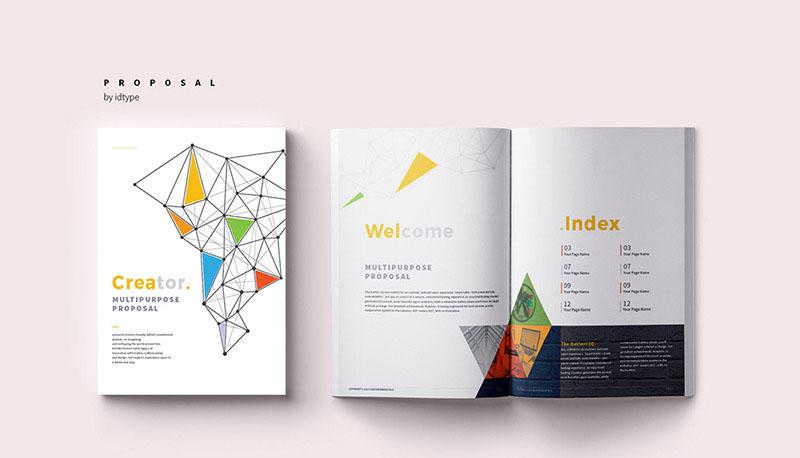 Creative Proposal Brochure Corporate Identity Template.