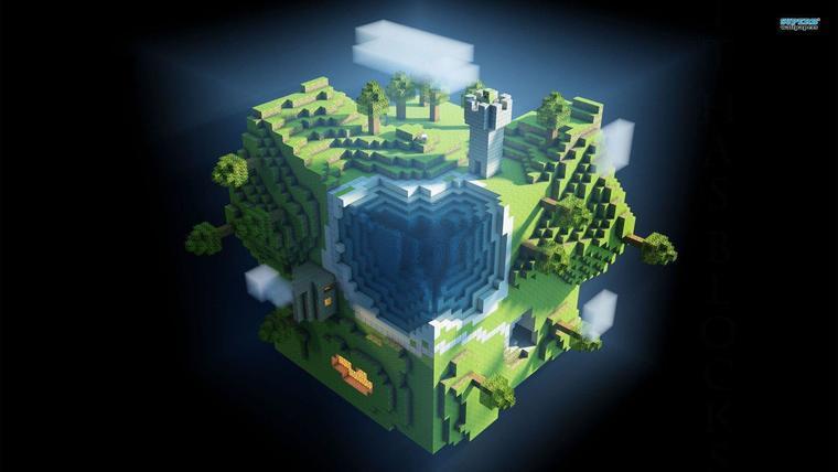 Desktop Minecraft Wallpaper 1.