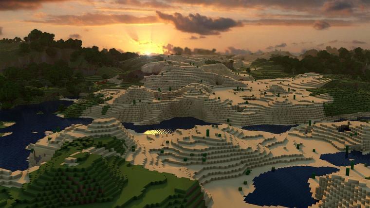 Desktop Minecraft Wallpaper 4.