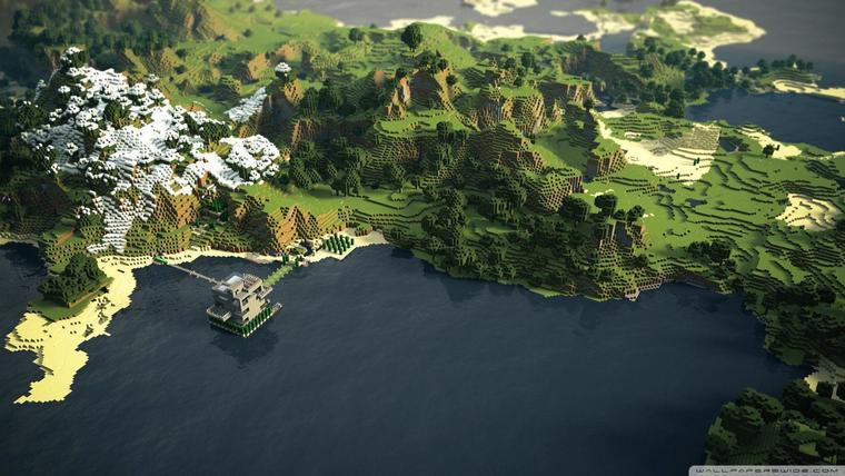 Desktop Minecraft Wallpaper 5.
