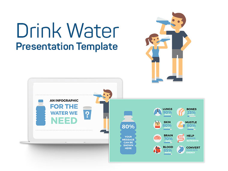 Drink Water PowerPoint Template