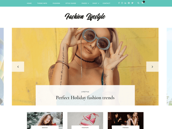 Fashion Lifestyle Template