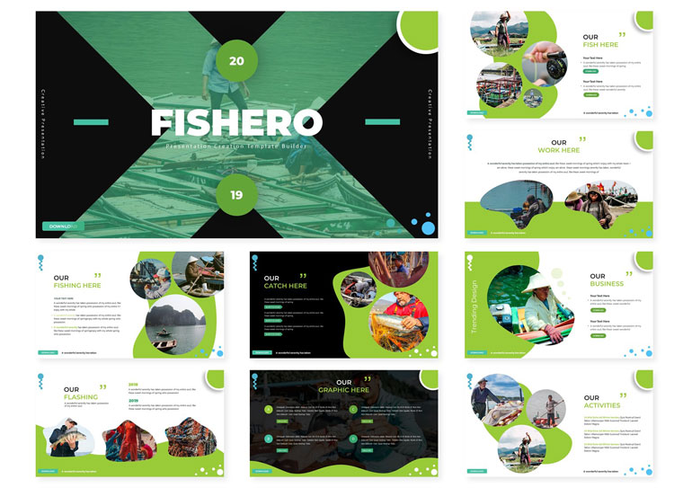 Fishero | PowerPoint Template