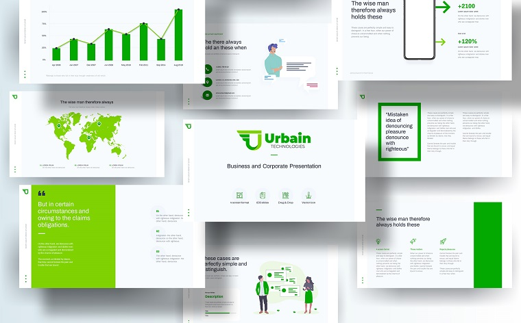 Free Company Profile PowerPoint Template to Impress the Customers